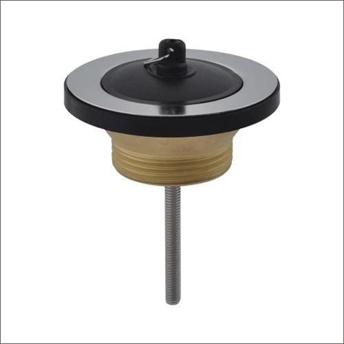 Sanipro Short sink drain with plug