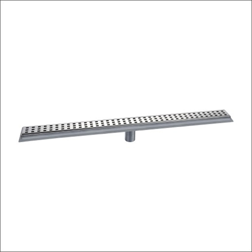 Sanipro Vertical Outlet Drain with Flange