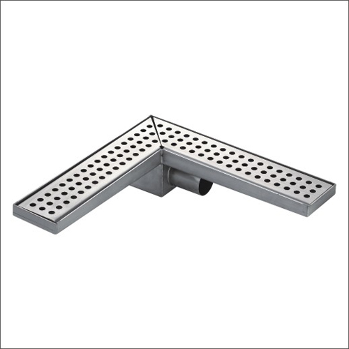 Sanipro Side Outlet Right Angle Drain without Flange