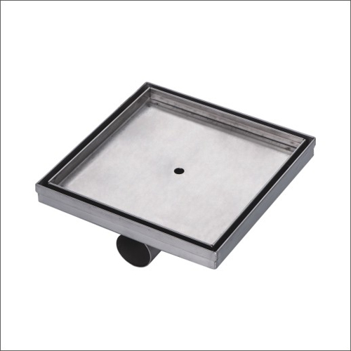 Sanipro Tile Insert Side Outlet Square Drain without Flange