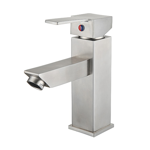 Sanipro Stainless steel wash basin mixer tap