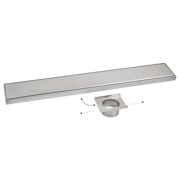 Sanipro adjustable drain outlet vertical shower drain